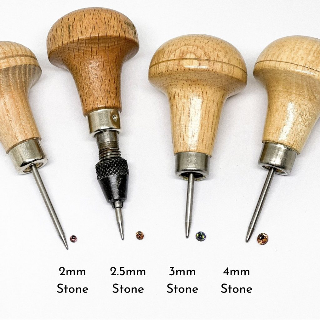 Tools for stone setting