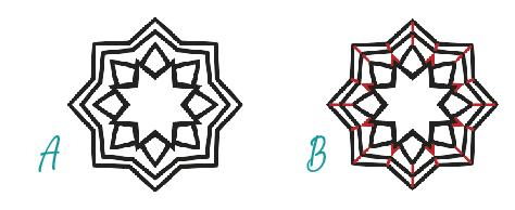 Designing saw piercing templates