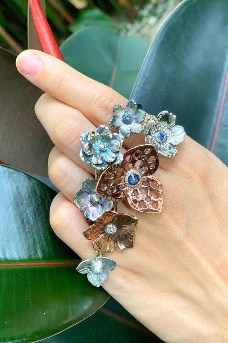 Delicate Flower Ring