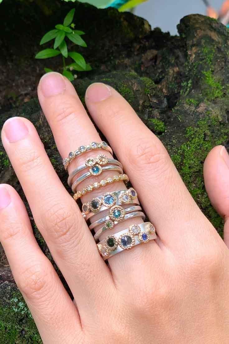Octopus Set Ring